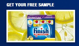 free sample of lemon finish detergent
