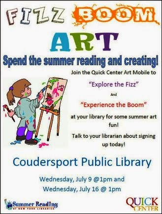7-16 Fizz, Boom Art--Coudersport Library
