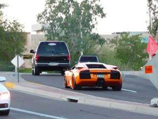 Lamborghini Murcielago Orange
