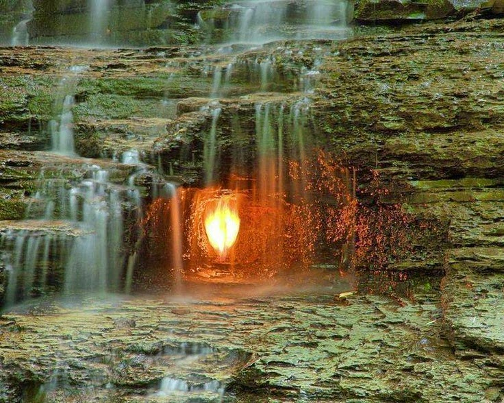 Api Abadi, Menari Dibalik Derasnya Air Terjun Shale Creek Preserve