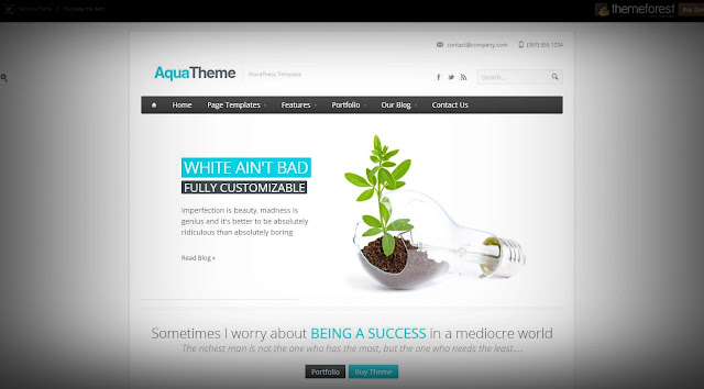 most popular wp templates of 2013