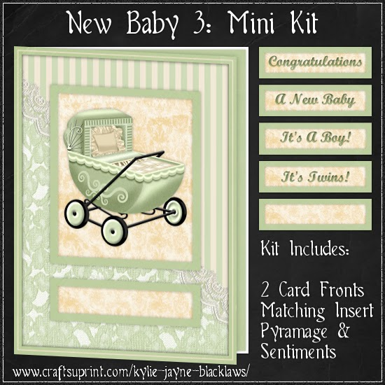 http://www.craftsuprint.com/card-making/mini-kits/mini-kits-new-baby/new-baby-3-pyramage-mini-kit.cfm