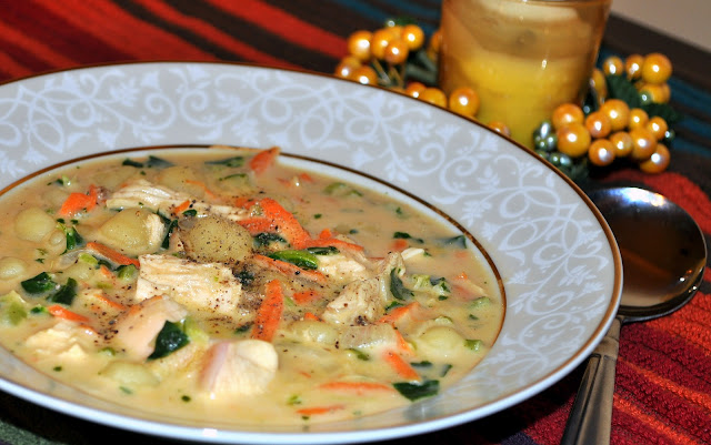Life Scoops Chicken And Gnocchi Soup