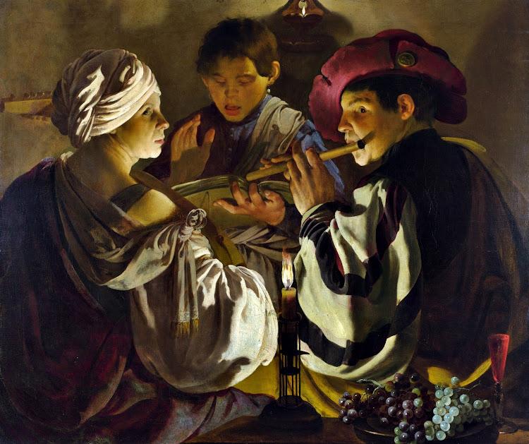 Hendrick ter Brugghen - The Concert (1626)