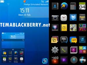Tema Blackberry 10