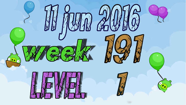 Angry Birds Friends Tournament level 1 Week 191