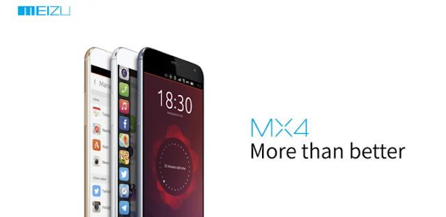 Smartphone Meizu MX4 com Ubuntu