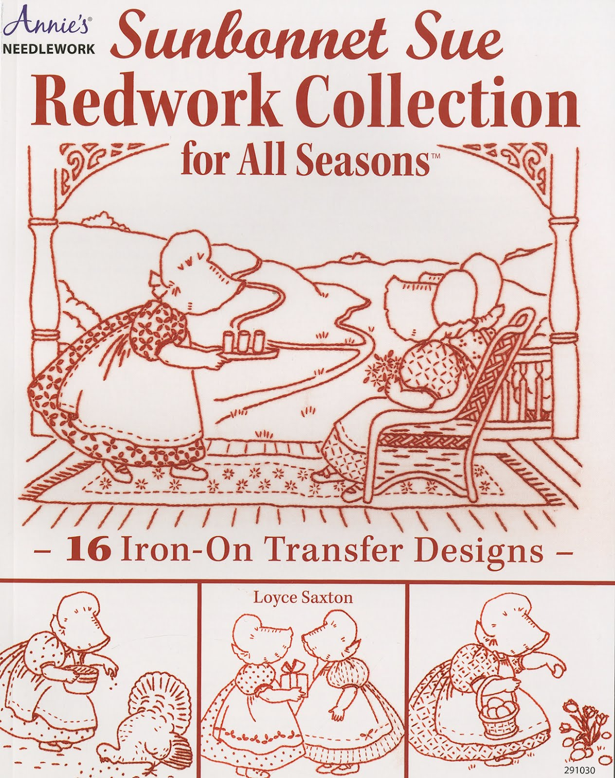 Sunbonnet Collection Redwork
