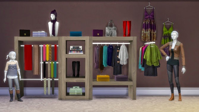 how to put items on shelves sims 4