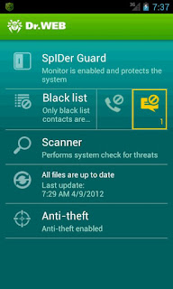 Dr.Web Anti-virus v6.01.8