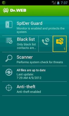 Dr.Web Anti-virus v6.01.8