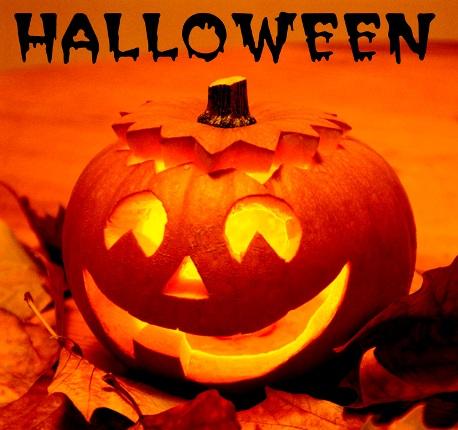 Marcadores sociales flotantes para Halloween
