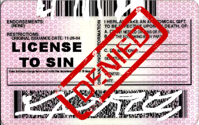 License to Sin Denied