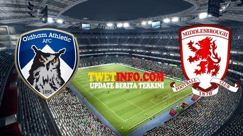 Prediksi Hasil Oldham Athletic AFC vs Middlesbrough 13 Agustus 2015