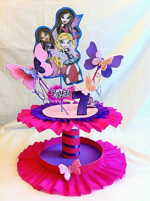 Fiestas Infantiles  Decoraci  N Monster High  Centros De Mesa