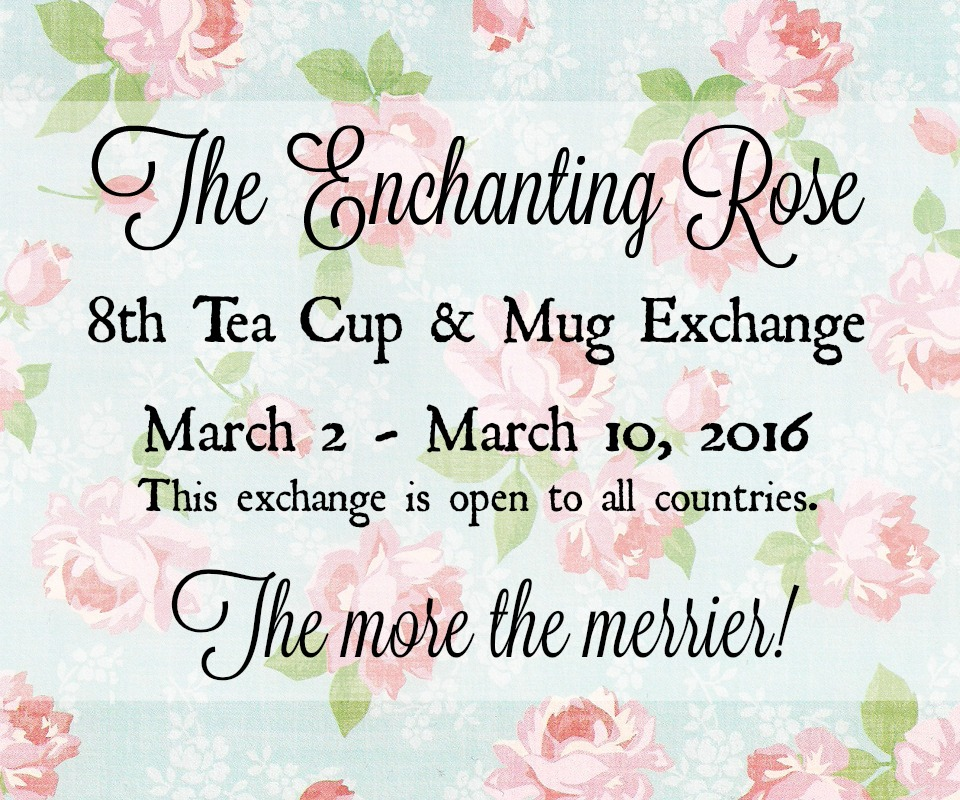 8th Tea Cup & Mug Exchange