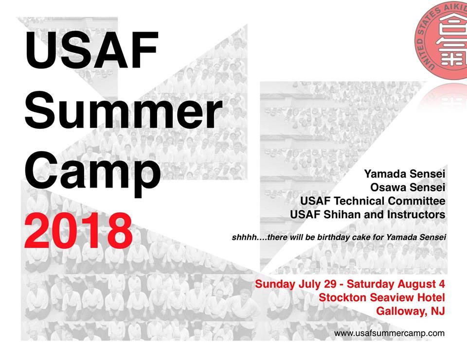 USAF Summer Camp 2018