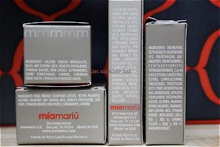 mia mariu cosmetics ingredients
