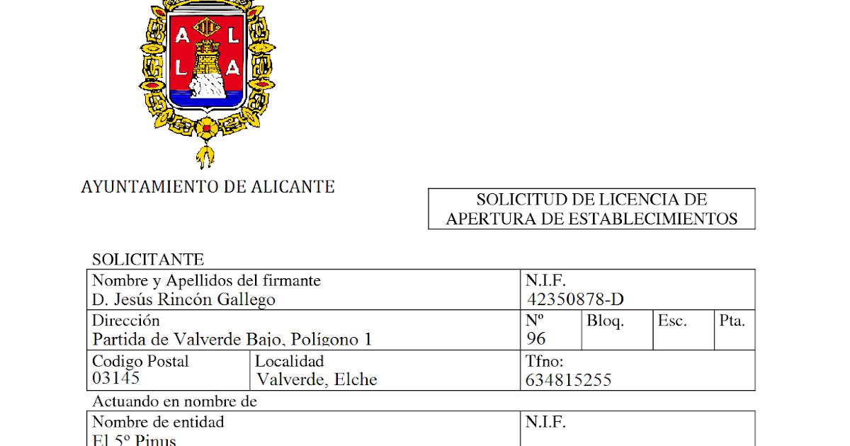 Licencia Apertura Local Madrid Diseo Belle Maison Firmixnet With Licencia  Apertura Local Madrid.