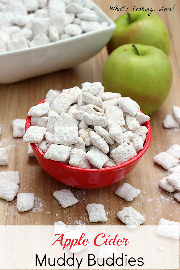 Apple Cider Muddy Buddies