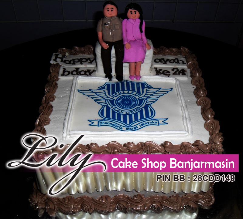 lily cake shop banjarmasin edible cake kue ultah pakai