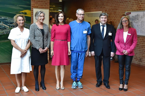 Princess Mary Attended The opening Of The International School Of Aarhus