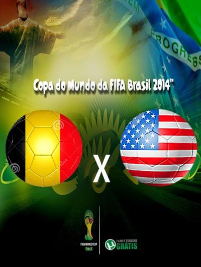 Belgica x Estados Unidos Oitavas de Final Copa do Mundo 2014