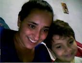 Minha filha e meu neto!
