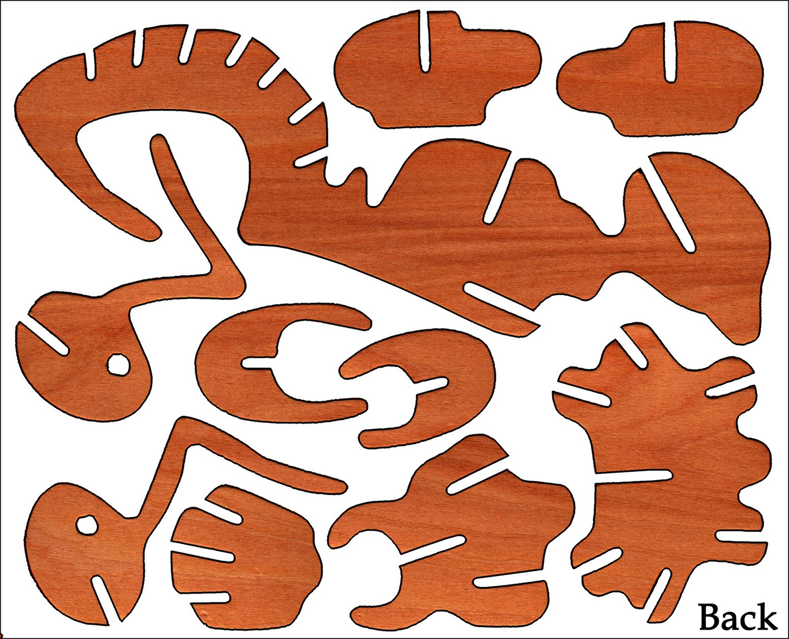 Wooden and Plywood Toy Plans, Free Fret Saw Patterns, and ...