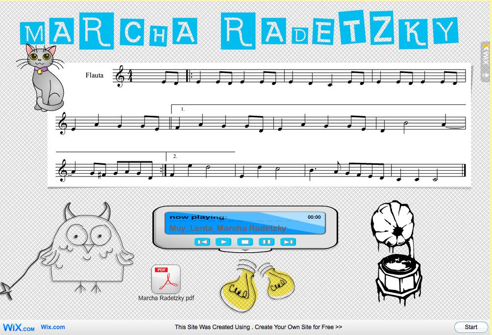 http://enriquecerezog.wix.com/marcha_radetzky