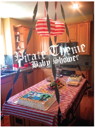 Pirate Baby Shower Ideas