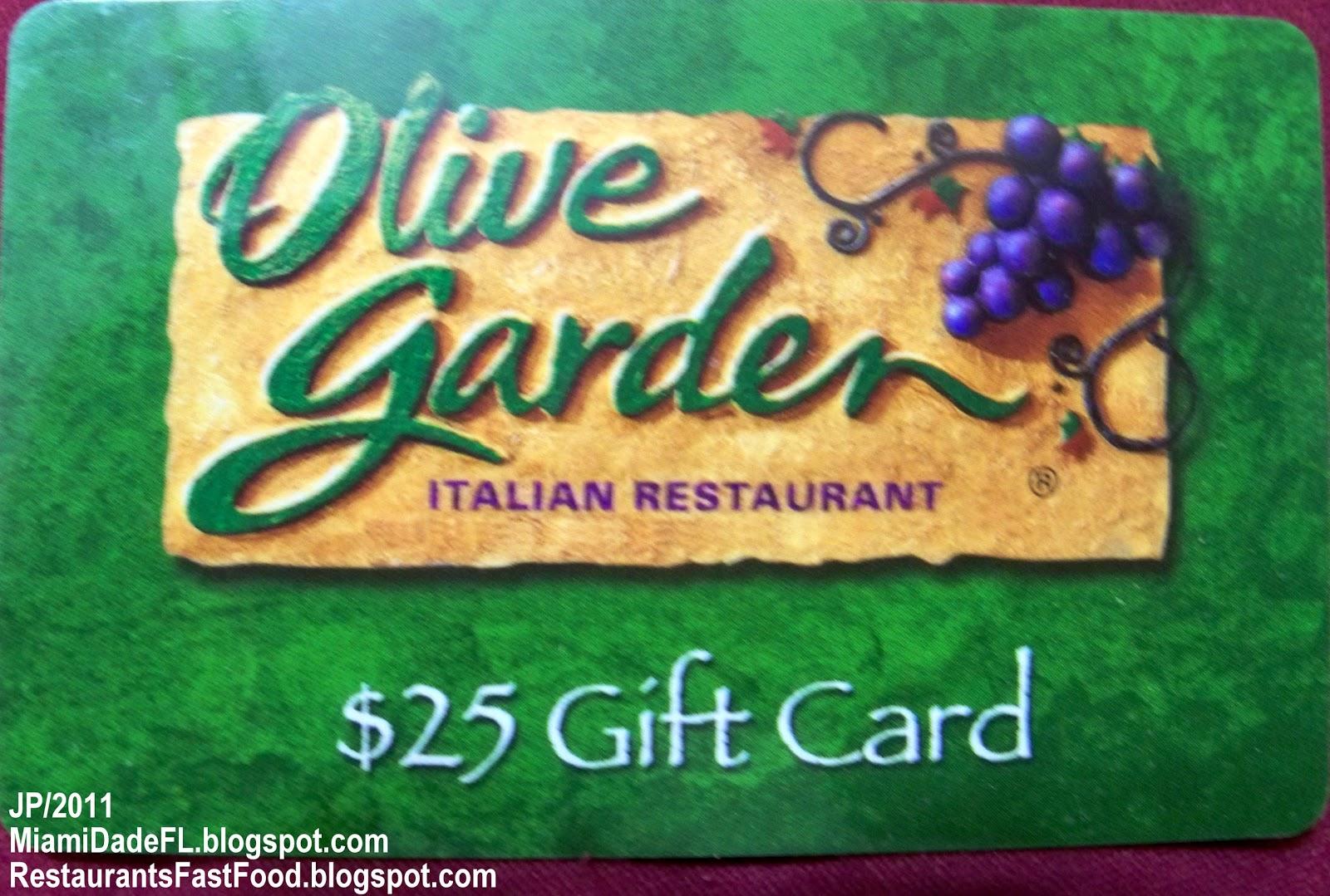 Olive Garden Miami Beach Florida