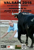 Sotero Arribas en el homenaje al Gallo