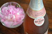 Barefoot Pink Moscato Mini Champagne Bottles