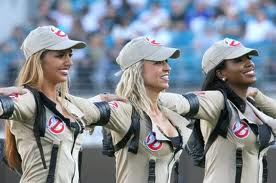 sexy ghostbusters cheerleaders dancers