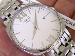 TISSOT 1853 WHITE DIAL SEMI SQUARE CASE - AUTOMATIC ETA 2824-2