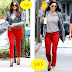 Celeb Monday (Red Jeans)