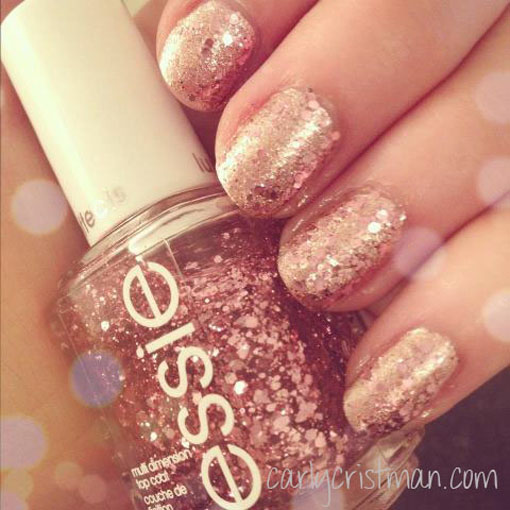 Rose Gold Nail Glitter: The Perfect Rose Gold Nail Polish