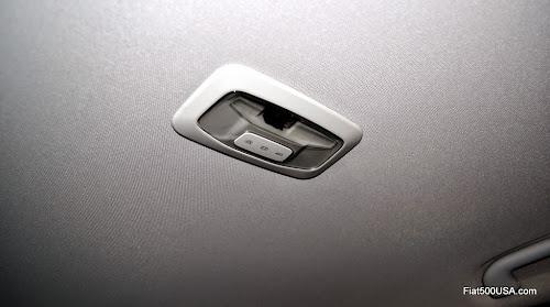 Fiat 500X Rear Seat Courtesy Light