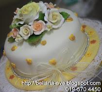 Fondant Engagement Cake