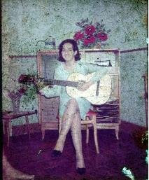 Quando estudava violão