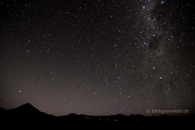 Nachthimmel in der Atacama