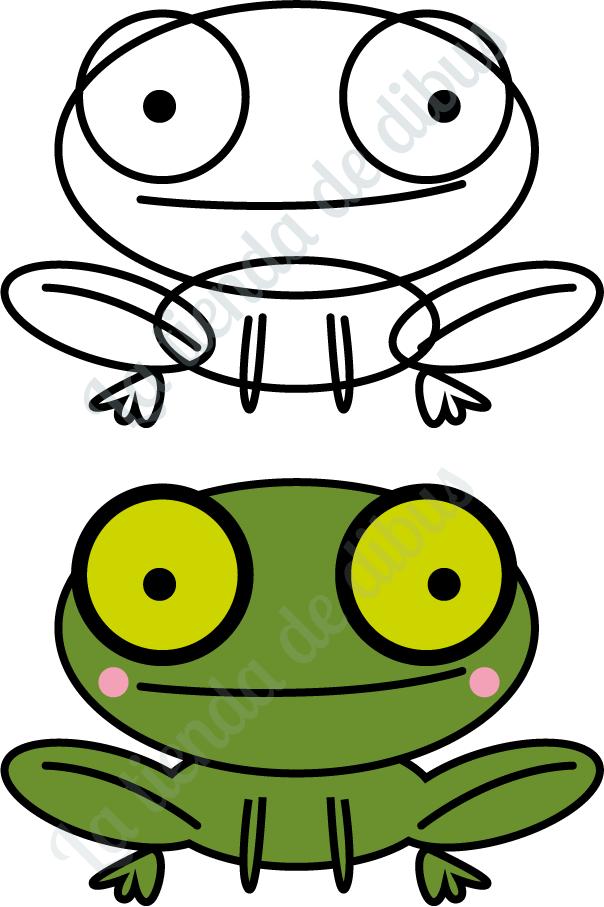 Ranas faciles de dibujar imagui for Comedor facil de dibujar