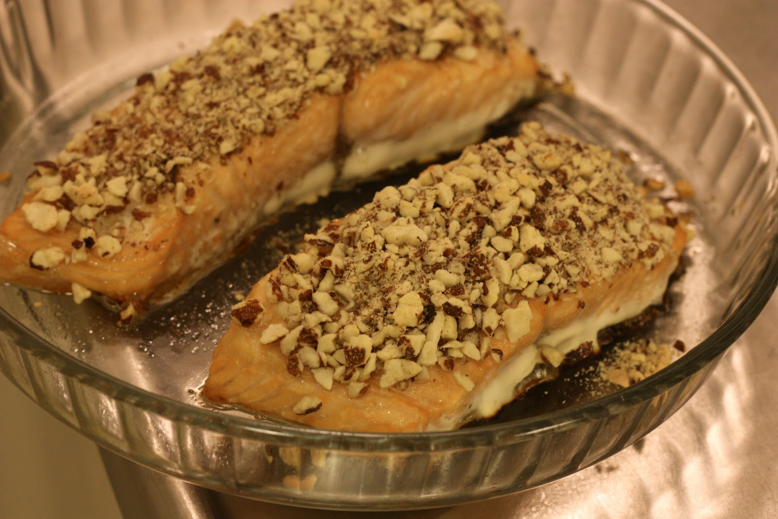 how to cook salmon steaks in microwave