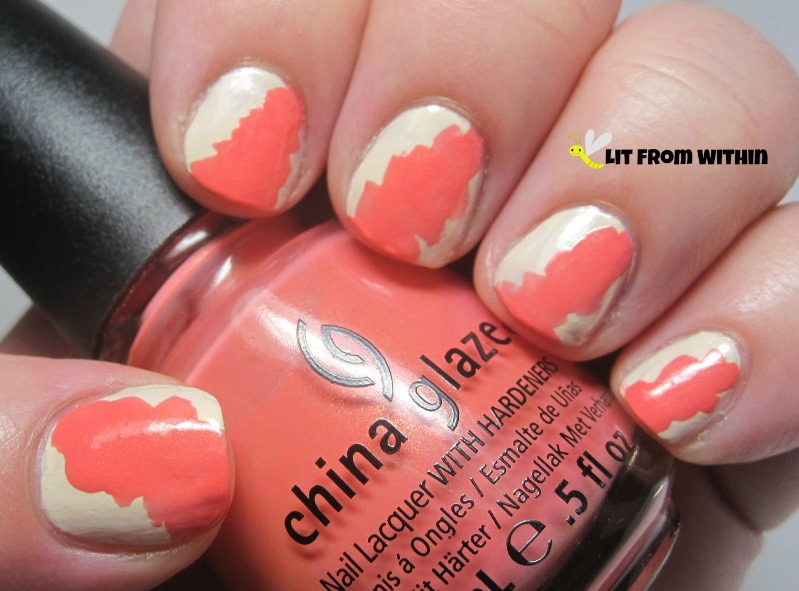 China Glaze Mimosa's Before Mani's, the perfect summer coral