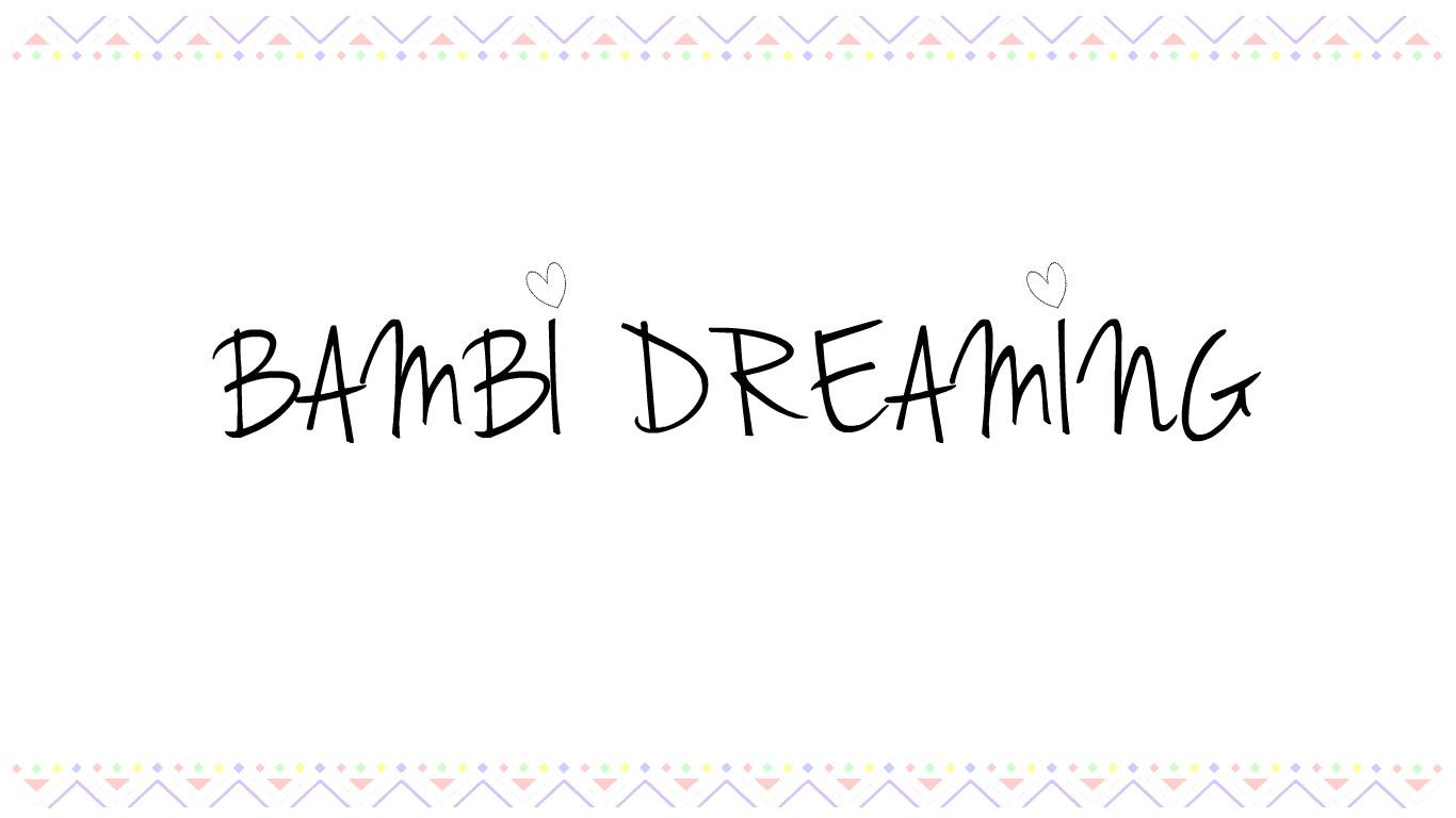 Bambi Dreaming