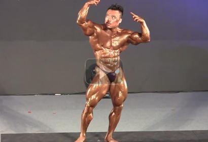 World Masters 2012 Wong Hong Malaysia Bodybuilding