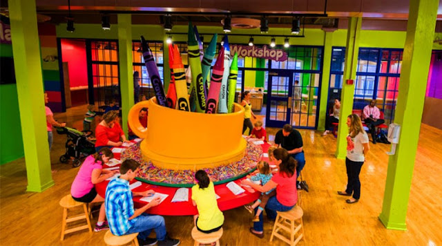 Crayola Experience em Orlando