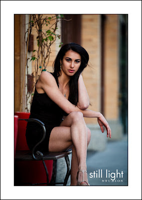 Maya Levine high school senior portraits by Still Light Studios senior photography
