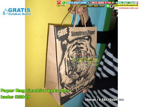 Paper Bag Gembira Loka Zoo